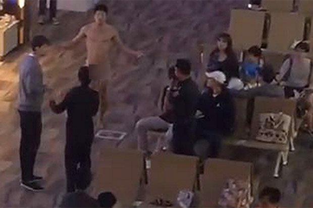 Tourist walks naked through Phuket airport after Viagra