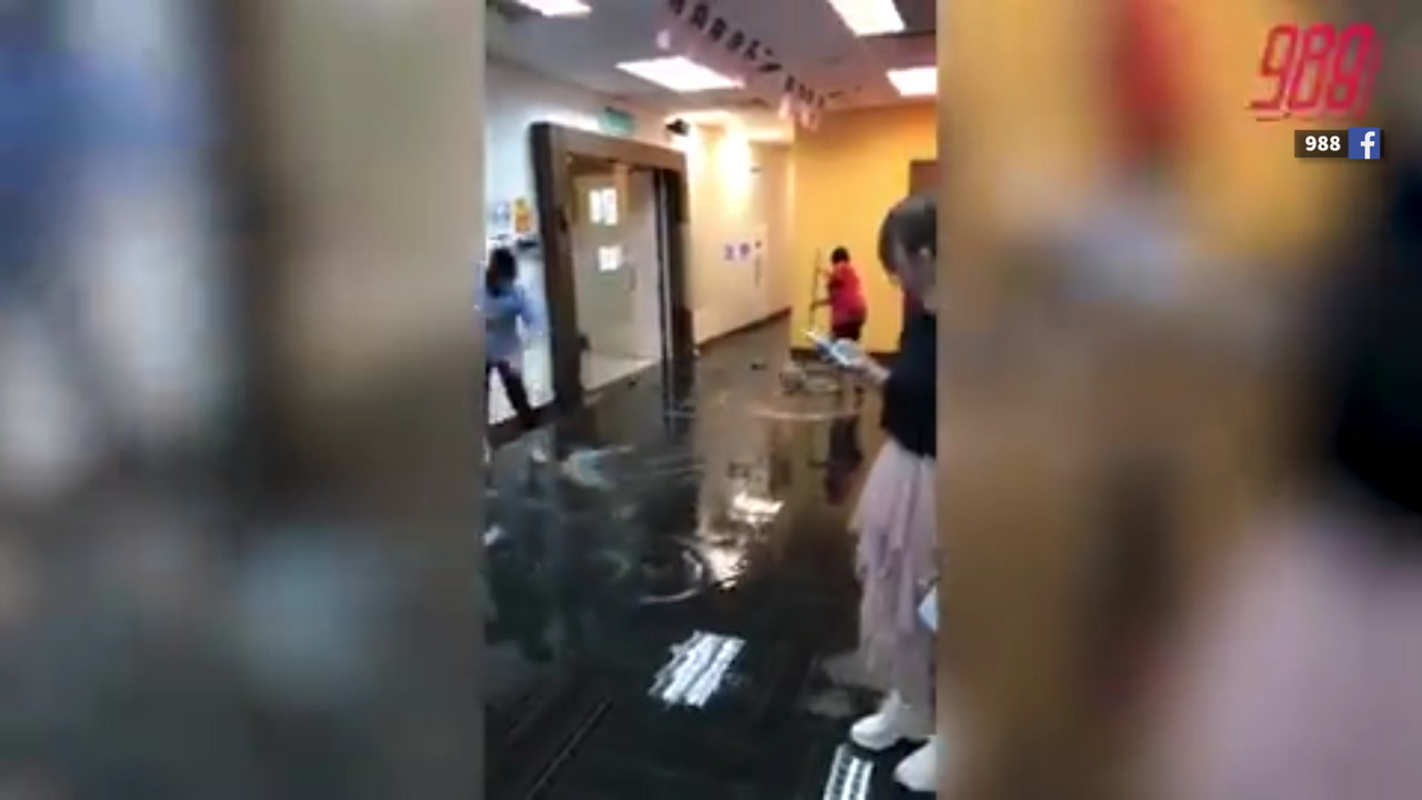 Major Water Leak Disrupts Suria And 988 Radio Transmissions