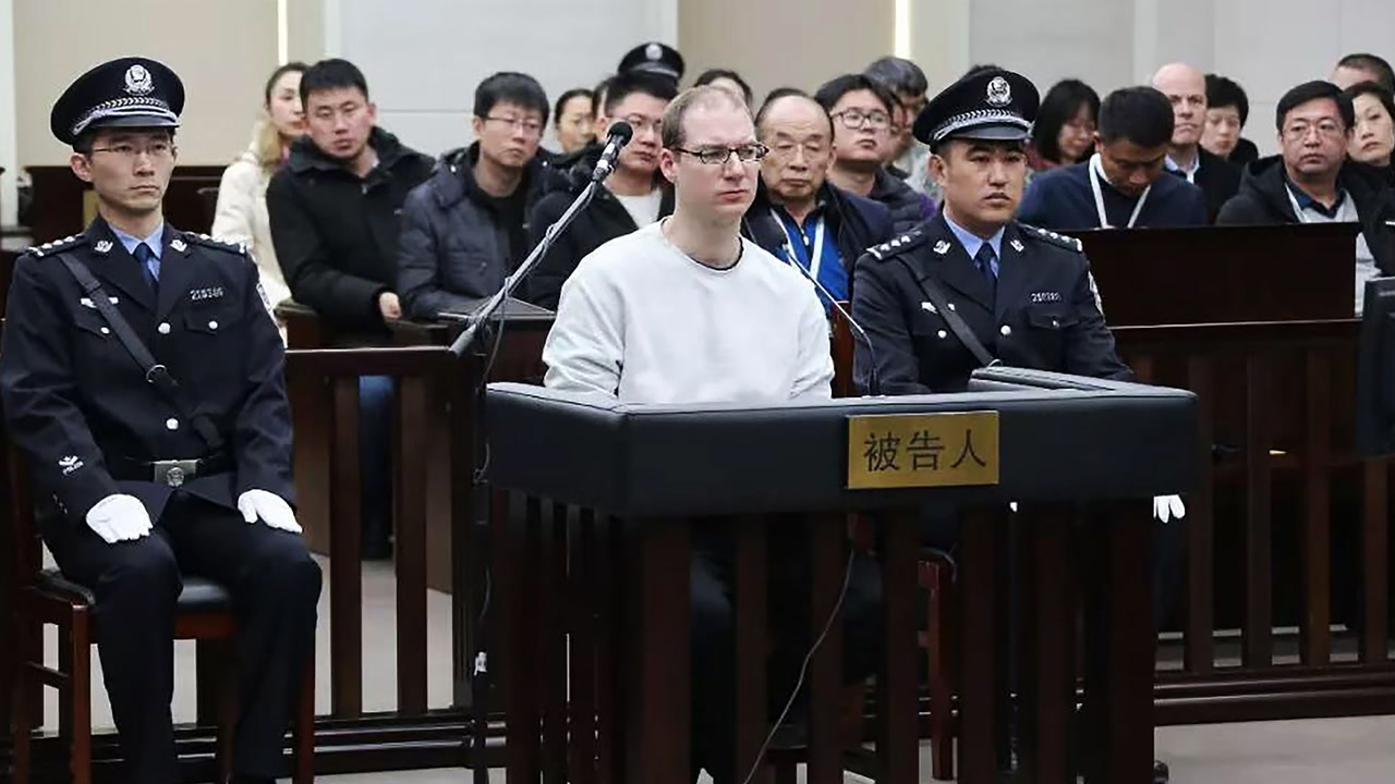 China court sentences Canadian to death; Trudeau blasts move