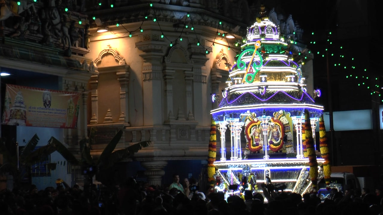 Silver chariot procession kicks off Thaipusam celebration in KL