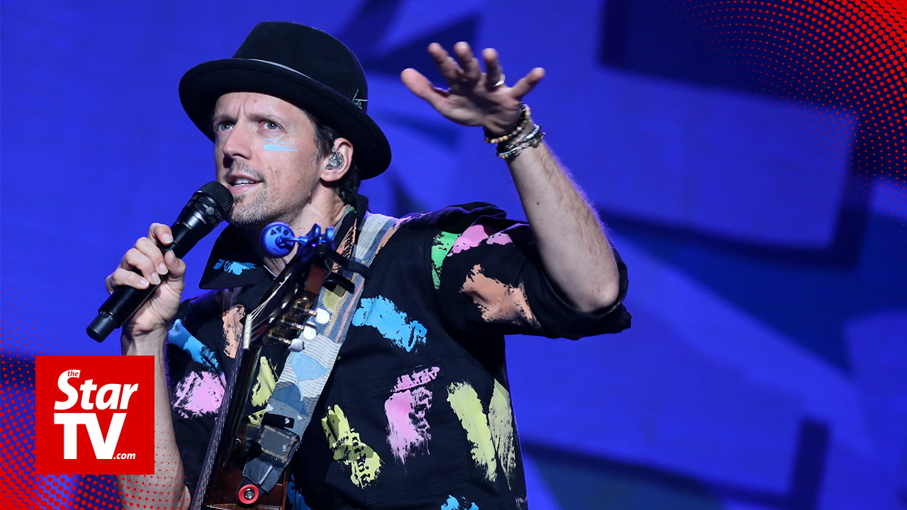 Jason Mraz sends good vibes to Malaysia!