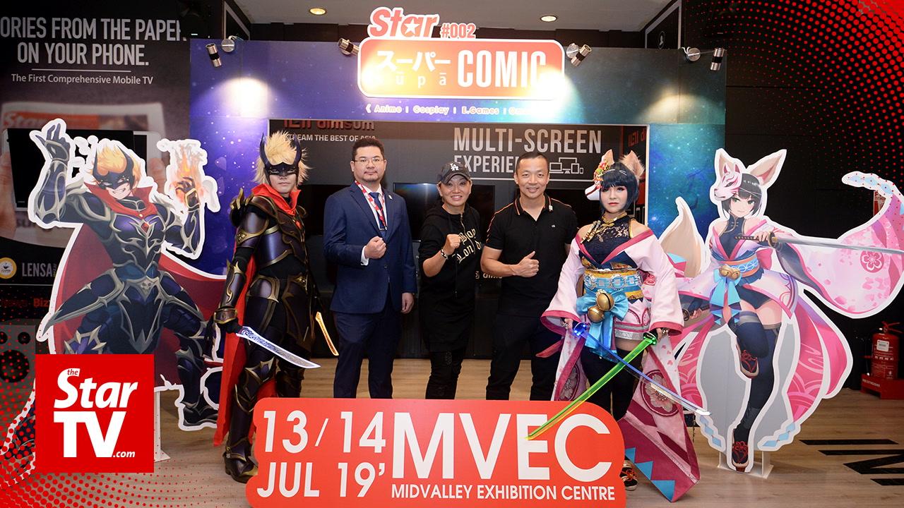 Meet Supa Heroes at Star Supa Comic 2019