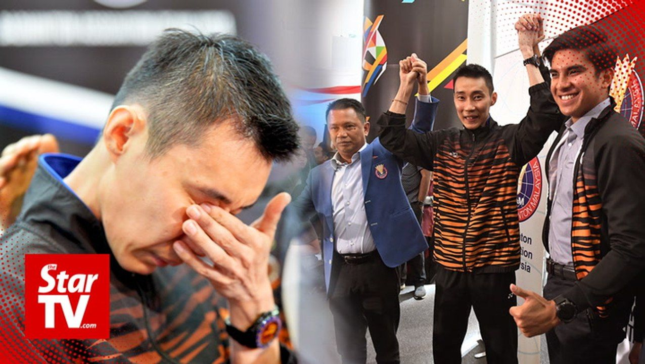 Tears as Malaysia's badminton ace Lee Chong Wei retires