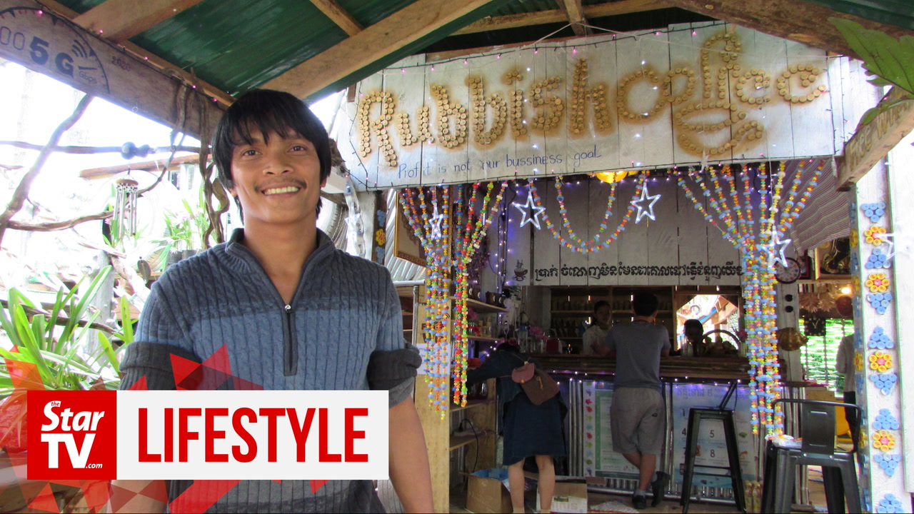 Plastic cups runneth over at Cambodia