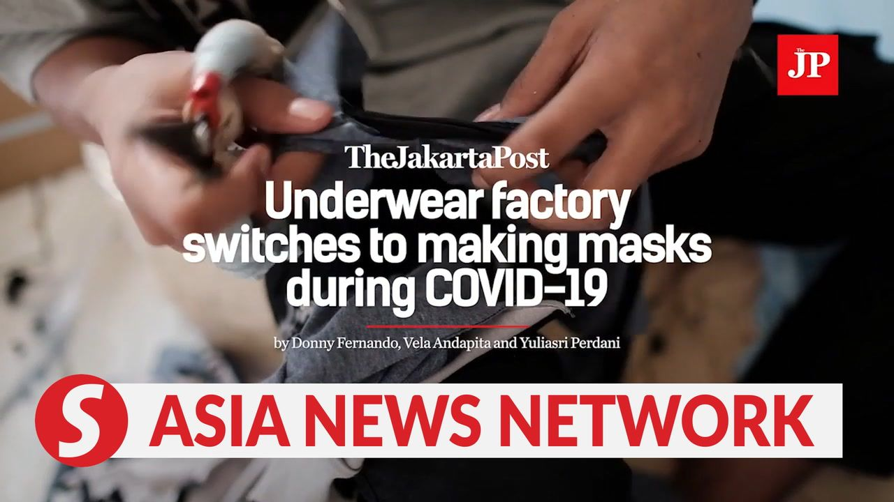 The Jakarta Post Indonesian Underwear Factory Switches To Making